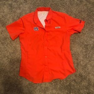 WOMENS AUBURN COLUMBIA SHIRT.